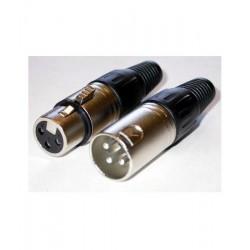 Conector XLR mama Blue Tech SRX-C-556