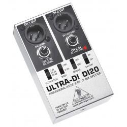 DIBox/Splitter 2Canale UltraDi Behringer DI20