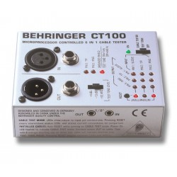 Aparat pentru Testat Cabluri echipate Behringer CT100