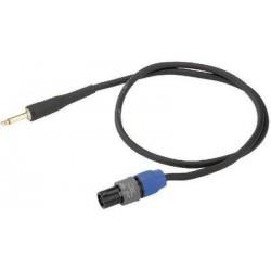 Cablu audio Speakon la Jack 6.3 Neutrik MSCN-8050/SW