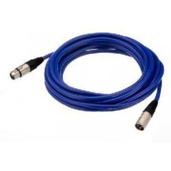 Cablu XLR la XLR Neutrik MECN-100/BL