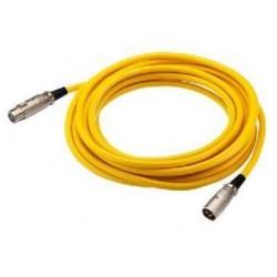 Cablu XLR la XLR Stage Line MEC-50/GE