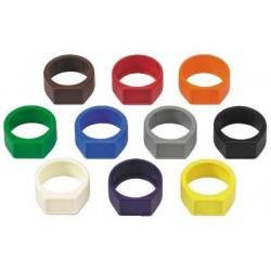 Colour coding rings Neutrik XCR-10SET