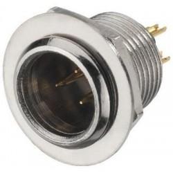 Conector mini XLR mama de panou Stage Line XLR-308/P