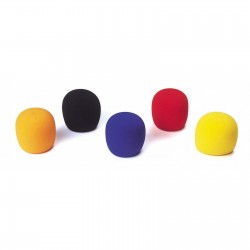 Set 5 bureti colorati protectie microfon JB Systems