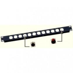 Perete rack 1 UNIT pt 12xXLR JB Systems RP-1U/XLR