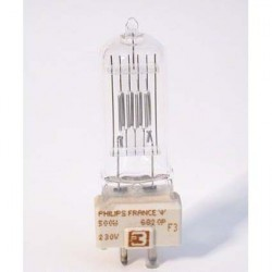 Bec Philips 6820/P (2146) 230V/500W GY9,5 (Theaterspot)