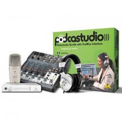 Set podcasting/inregistrare Behringer PODCASTUDIO FIREWIRE