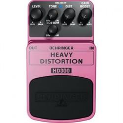 Efect pentru pedala Behringer HEAVY DISTORTION HD300