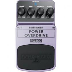 Efect pentru pedala Behringer POWER OVERDRIVE PO300