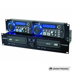 Dual CD/MP3 player, Omnitronic XMP-2800
