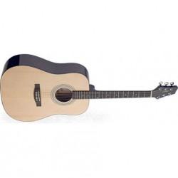 Chitara electro-acustica tip Dreadnought Stagg SW205N