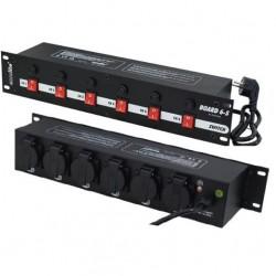 Consola 6 prize EUROLITE Board 6-S w/6x safety-plugs (70008275)