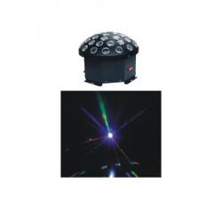 Hole Crystal Mushroom LED Blue Tech SPG-032A