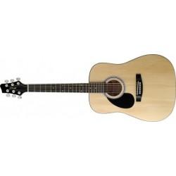 Chitara acustica pentru stangaci Stagg SW201 3/4 LH N