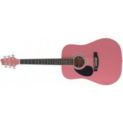 Chitara acustica pentru stangaci Stagg SW201 3/4 LH PK