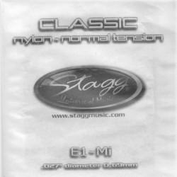 Coarda nylon chitara clasica tensiune normala Stagg CLN-E1N