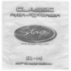 Coarda nylon chitara clasica tensiune normala Stagg CLN-G3N