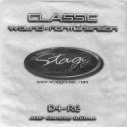 Coarda chitara clasica tensiune normala Stagg CLN-D4W