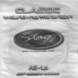 Coarda chitara clasica tensiune normala Stagg CLN-A5W