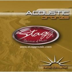 Set corzi chitara acustica Stagg AC-1356-BR