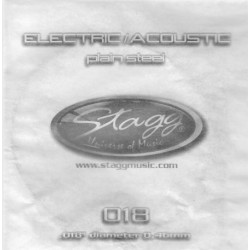 Coarda chitara electrica/acustica Stagg PLS-017
