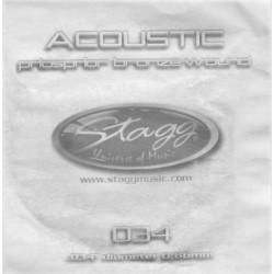 Coarda din bronz pentru chitara acustica Stagg BRW-026