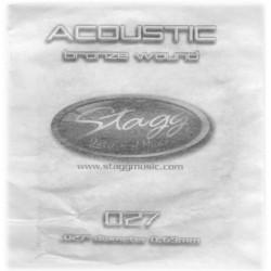 Coarda din bronz pentru chitara acustica Stagg BRW-027