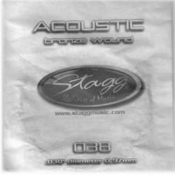 Coarda din bronz pentru chitara acustica Stagg BRW-038