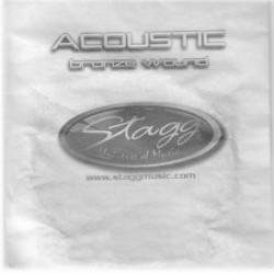 Coarda din bronz pentru chitara acustica Stagg BRW-056