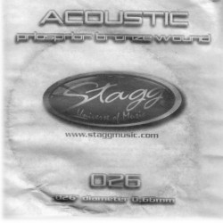 Coarda chitara acustica Stagg PBW-026