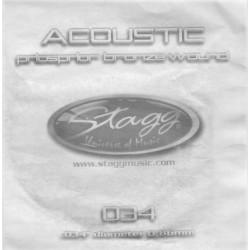Coarda chitara acustica Stagg PBW-034