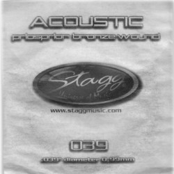 Coarda chitara acustica Stagg PBW-039