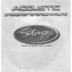 Coarda chitara acustica Stagg PBW-047