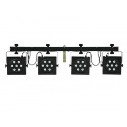 Set complet de lumini Eurolite LED KLS-801 RGB DMX