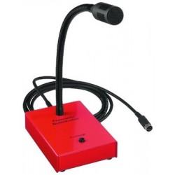 Microfon de pupitru pentru anunturi de urgenta Monacor MEVAC-1FT