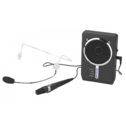 Amplificator voce digital portabil Monacor WAP-7D