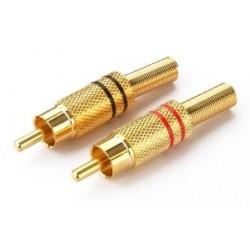 RCA Plug-In Connector Monacor T-707GLC