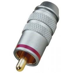 RCA plug Monacor T-711G/RT