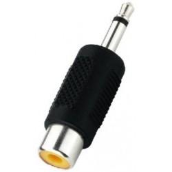 Adaptor Jack 3.5 tata mono - RCA mama Monacor NTA-194