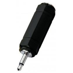 Adaptor Jack 3.5 tata - Jack 6.3 mama stereo Monacor NTA-172