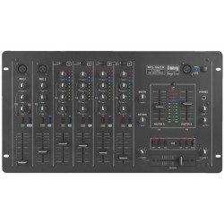Mixer audio 6 canale Stage Line MPX-206/SW