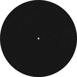 Felt slipmat for turntable platters Stage Line DJP-2M