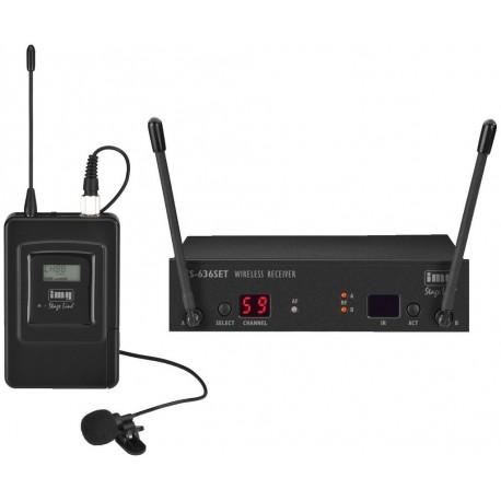 Set lavaliera wireless Stage Line TXS-636SET