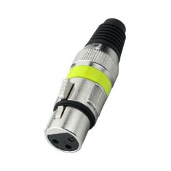 Connector XLR Stage Line XLR-207J/GE