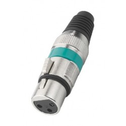 Connector XLR Stage Line XLR-207J/GN