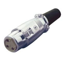 Conector mama microfon, pe cablu Sal S 24