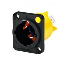 Conector panou Speakon retea Neutrik NAC-3MPX