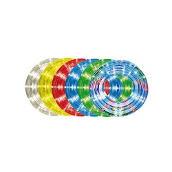 Tub luminos cu LED, 10 m, transparent, programe: 8 Sal RPL 3101/8