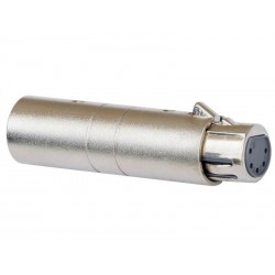 Adaptor XLR tata 3 pini - XLR mama 5 pini Jb Systems 1277